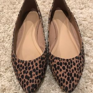 Old Navy Leopard Flats